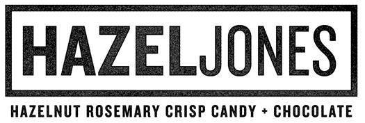 hazel jones hazelnut rosemary crisp candy with chocolate gluten free and vegan